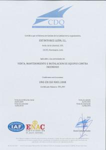 CERTIFICADO UNE_EN ISO 9001 ESP